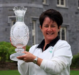 Alison with Solheim Cup