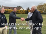 CPI Rae Improves Students Putting at Drumoig, Scotland